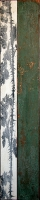 Mixta sobre madera y cobre/35x180cm